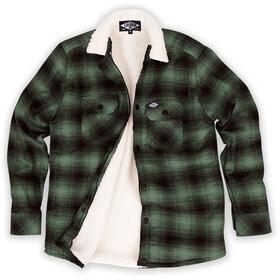 Loose Riders Flannel Jacket Men, green